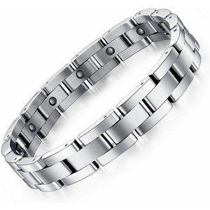 Mens Feraco Magnetic Bracelet Titanium Stainless